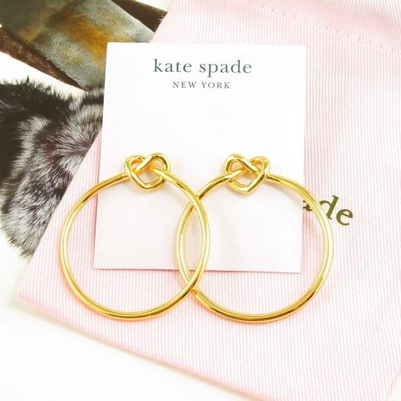 88d6bd511 Kate Spade Loves Me Knot Hoop Stud Earrings Gold. NWT. kate spade.  M_5ce7866410f00fffbd1ff9ca. M_5ce786652e7c2ff69596d783.  M_5ce78667c953d83564f37e71